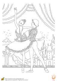 Coloriage Danse Classique