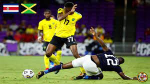 COSTA RICA VS JAMAICA REGGAE BOYZ ...