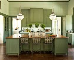 kitchen cabinets green walls home
