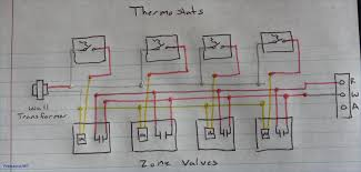 honeywell boiler thermostat wiring diagram air conditioning inside zone zone valve