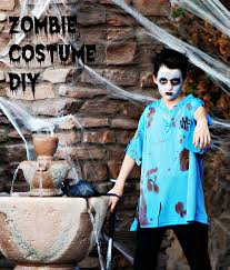zombie baseball player costume makeup tutorial