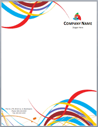 Free Stationery Templates For Microsoft Word Free Letterhead