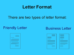 Friendly Letter Format Business Letter Writing Ppt Video Online Download