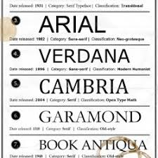 Good Font For Resume The Best Fonts For Your Resume Ranked Visual Ly