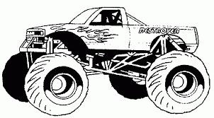 Creating Custom Hot Wheels Monster Truck Coloring Pages | Creative ...