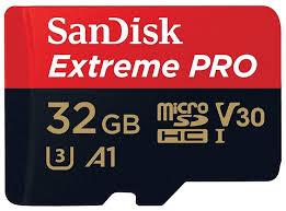 <b>Карта памяти SanDisk Extreme</b> Pro microSDHC Class 10 UHS C ...