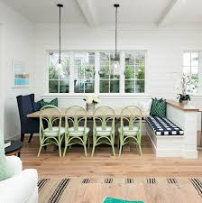 breakfast banquette furniture. dining room banquette with shiplap walls and industrial lighting breakfast furniture n