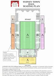 Centennial Concert Hall Seating Chart 18 Thorough Town Hall Seating