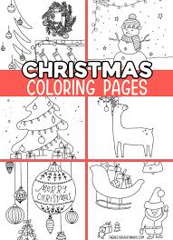 These christmas coloring pages feature pictures to color for christmas. Christmas Coloring Pages The Best Ideas For Kids