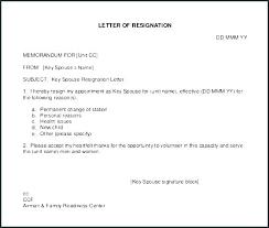 Format Of Regine Letter Letter Of Resignation Template Free