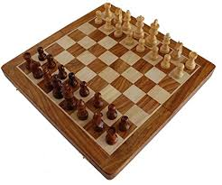 Handmade Wooden Board Games Interesting Amazon BKRAFT32U Handmade Wooden Rosewood Foldable Magnetic