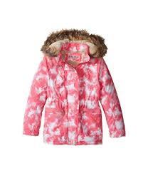 kids urban republic kids peach finish microfiber jacket w detachable faux fur hood little kids big