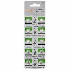 <b>Pack AG4 377A 377</b> LR626 SR626SW SR66 LR66 376 Alkaline ...