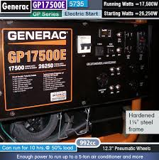 generac ads. Fine Generac Best 17500 Watt Generator  Generac GP17500E 5735 And Ads