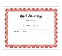 Most Improved Red Uw Certificate Jones School Supply