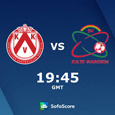 KV Kortrijk SV Zulte Waregem live uitslagen - SofaScore