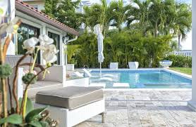 themed tropical outdoor patio palm tree fan this is the type of i want plants types palms