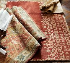 channing persian style rug pottery barn