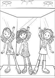 Groovy Girls Kleurplaat Jouwkleurplaten