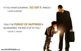 why is happiness spelled as happyness in the title of the film  that state of happyness is real happyness