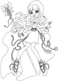 Small Picture Free Printable Monster High Coloring Pages River Styxx Monster