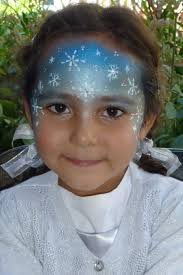 frozen party face painting kit