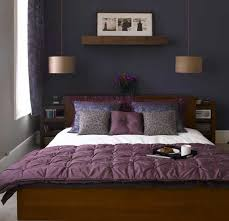 Purple And Gray Bedroom Ideas Home Interior Design  E