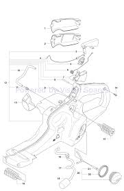husqvarna 576xp chainsaw 2011 parts diagram fuel tank