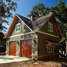 Single Car Garage Designs Two Story One Apartment Historic Shed Garages With Living Quarters