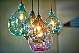 hand blown glass lamp shades mini pendant lights with light beautiful for  your and 4 epic