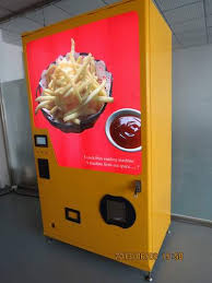 Chip Vending Machine Beauteous French Fries Vending Machine ManufacturerBeyondte Technology Co