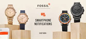 fossil watches macy s fossil hybrid smartwatches smart phone notifications shop now