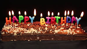 Happy Birthday Cake And Candles Stock Footage Video Getty Images