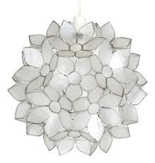 capiz pendant lights seashell beauty