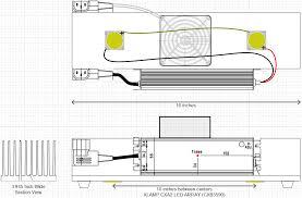 a cree cxb3590 cob led bar grow room design opengrow rh opengrow com diy led grow light diagram led grow lights