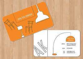 business cards interior design. Interior Designer Business Cards Design