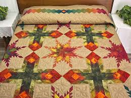 Amish Country Quilt Shops Feathered Star Quilt Magnificent Smartly ... & Amish Country Quilt Shops Feathered Star Quilt Magnificent Smartly Made Amish  Quilts From Lancaster Hs5339 Amish Adamdwight.com