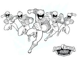 Power Rangers Printables Coloring For Babies Amvame
