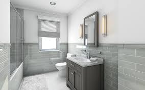 High Tech Bathroom Bathroom 3d Graphics High Tech Style Interior Design