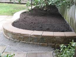landscaping with garden walls willing landscape ideas backyard borders