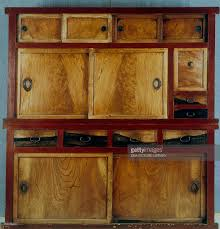 Kitchen Cabinet Doors And Drawers 19th Century Wood Lacquer And ...