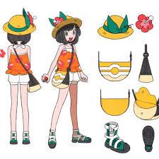 Early concept art of Selene from Pokémon Ultra Sun and Ultra Moon. | Pokemon,  Pokemon cosplay, Pokemon art