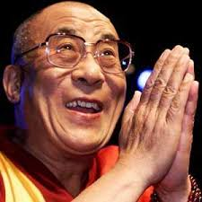 The grand daughter of Mahatma Gandhi, Ila Gandhi, presented the award, instituted in 2003, to the Dalai Lama at the Kalachakra ground here. - DalaiLama
