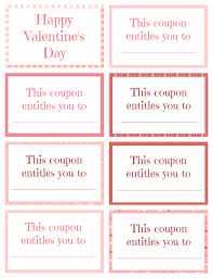 printable valentine coupon book for kids printable valentine coupon book blank