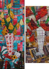 Art quilt by Katie Pasquini Masopust #SAQA #artquilts   SAQA ... & Art quilt by Katie Pasquini Masopust #SAQA #artquilts   SAQA Benefit  Auction 2014   Pinterest   Quilt art, Fiber art and Sunflower quilts Adamdwight.com