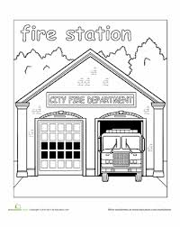 You can help to expand this page by adding an image or additional information. Paint The Town Fire Station Preschool Coloring Pages Community Places
