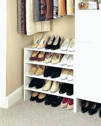 diy closet shoe shelves closet shoe shelves for bedroom ideas of modern house new shoe rack diy closet