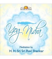 yoga nidra from the art of living