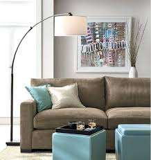 over the couch lighting dumound elegant floor lamps lamp behind sofa home design ideas