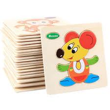 Tranh ghép hình gỗ - Đồ chơi gỗ cho bé 3 tuổi đáng mua cho bé